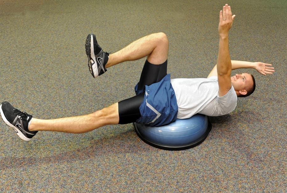 bosu-pilates