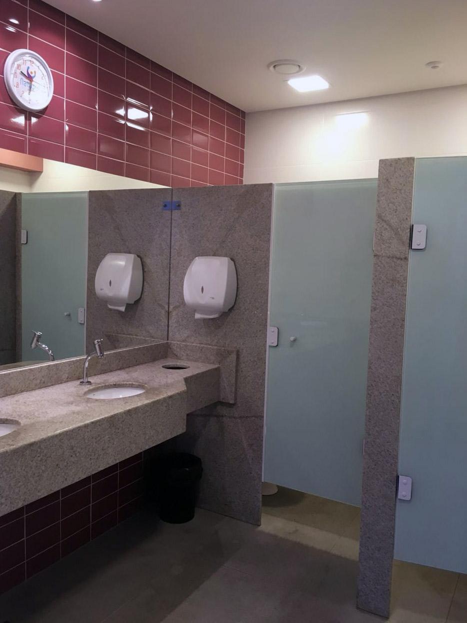 09df02b83 Novos vestiários da Natasul oferecem mais conforto e espaço aos alunos